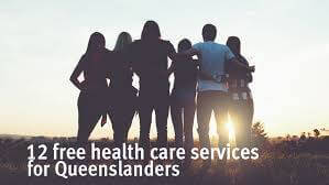 12 free health care services for queenslanders